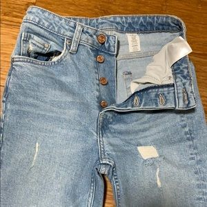 H&M vintage skinny coupe high waisted size 25